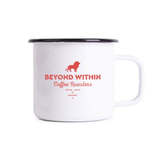 Beyond Within  Enamel zománcozott bögre