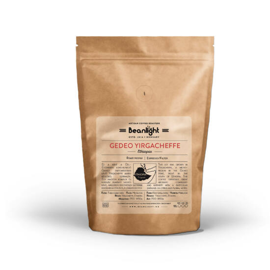 Gedeo Yirgacheffe ETHIOPIA 1000g specialty kávé