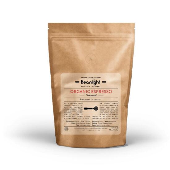 Organic Espresso 200g specialty kávé