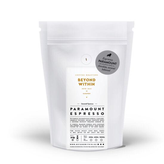 Paramount ESPRESSO 200g specialty kávé