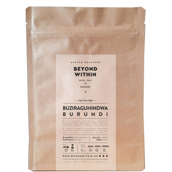 Burundi Buziraguhindwa 200g filter