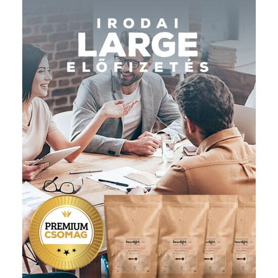 """Premium """"Large"""" - Beanlight Előfizetés (Irodáknak)"""