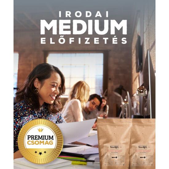 """Premium """"Medium"""" - Beanlight Előfizetés (Irodáknak)"""