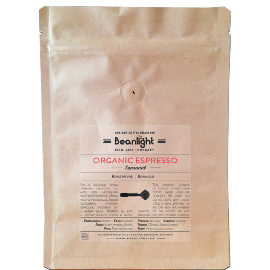 Organic Espresso 400g