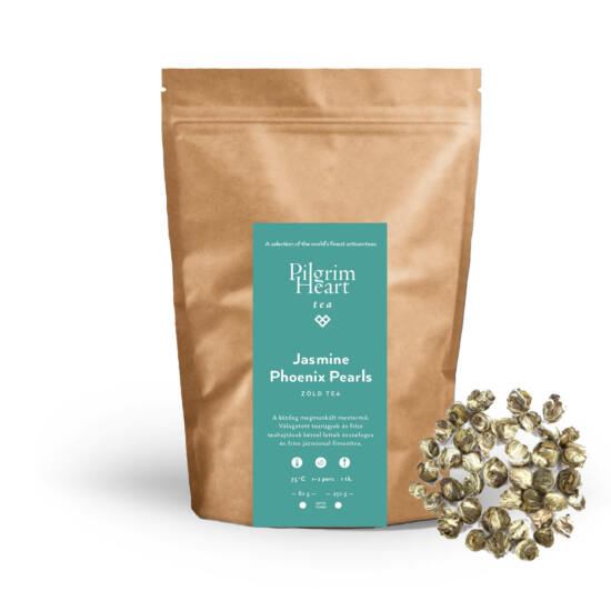 Jasmine Phoenix Pearls 80g - zöld tea