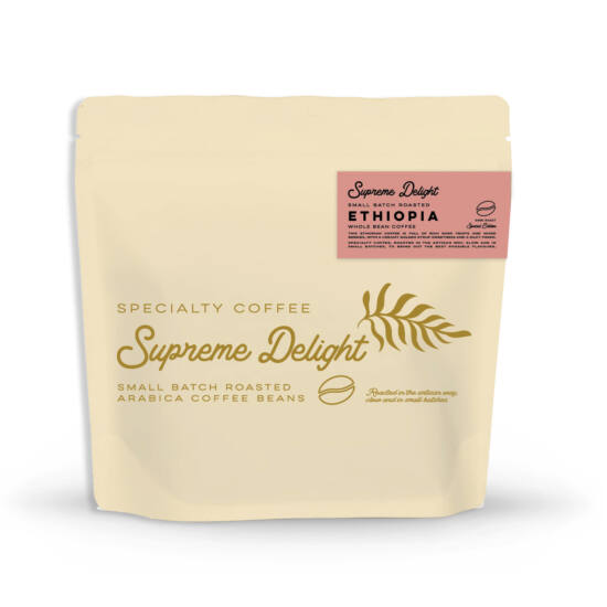 Etiópia - Supreme Delight - 1000g specialty kávé