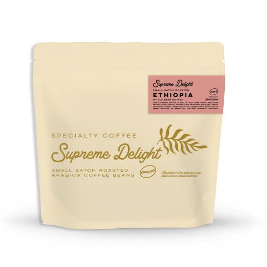 Etiópia - Supreme Delight - 200g specialty kávé