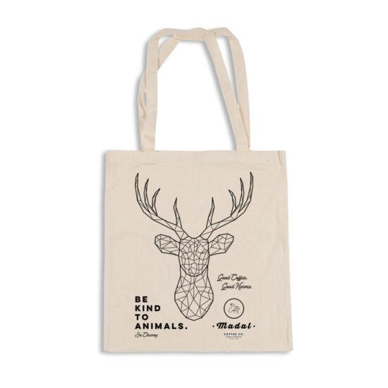 """""""Be kind to animals"""" #1 Madal vászon táska"""