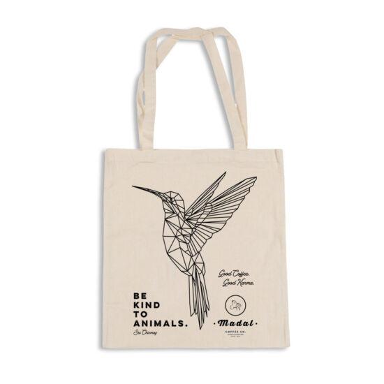 """""""Be kind to animals"""" #2 Madal vászon táska"""