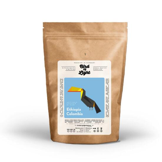 Etiópia - Kolumbia BLEND Specialty Kávé 200g