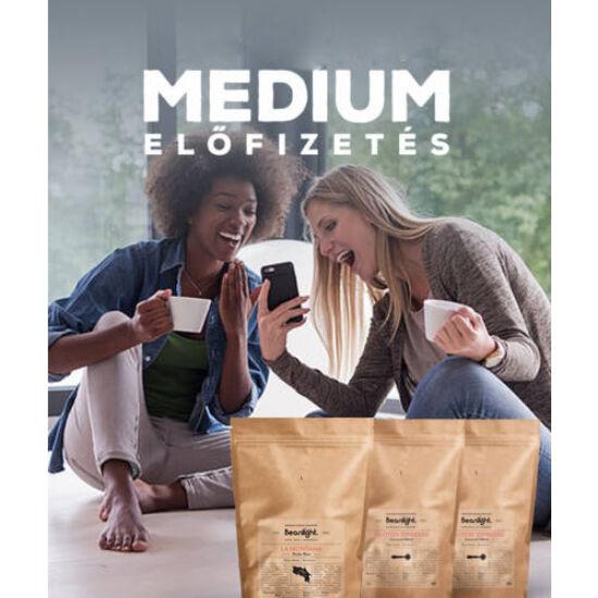 Specialty Kávé Előfizetés MEDIUM (havi 3x400g)