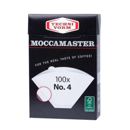 MoccaMaster No.4 papírfilter - 100db