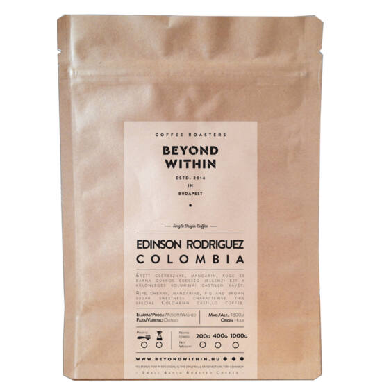 Edinson Rodriguez Colombia 400g filter