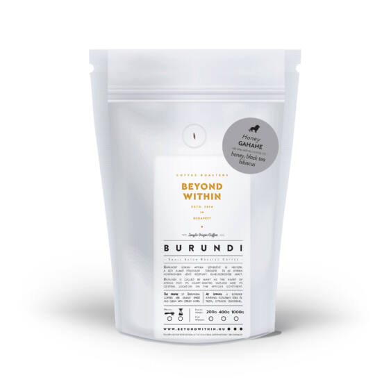 Gahahe BURUNDI 1000g filter specialty kávé