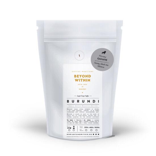 Gahahe BURUNDI 400g specialty kávé