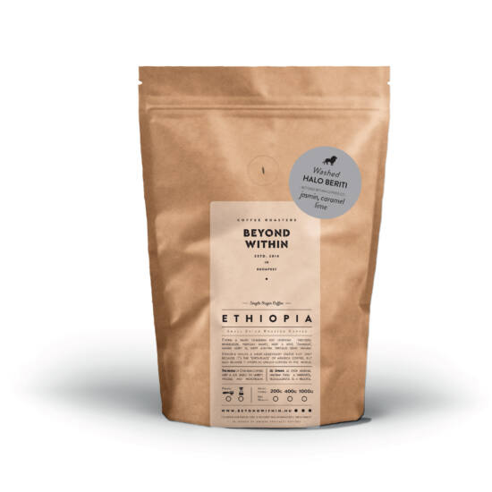 Halo Beriti ETHIOPIA 200g specialty kávé