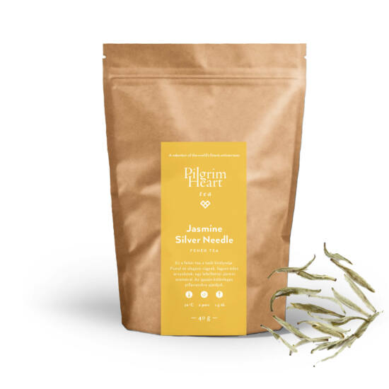 Jasmin Silver Needle 40g - fehér tea