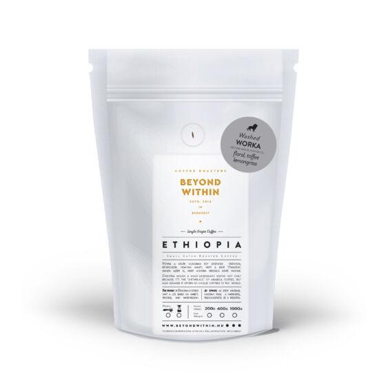 Worka ETHIOPIA 1000g filter specialty kávé