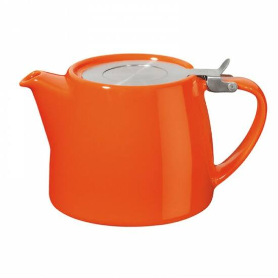 Stump teapot 50cl, carrot