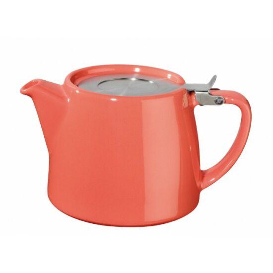 Teáskanna Stump Teapot 50cl, korall szín