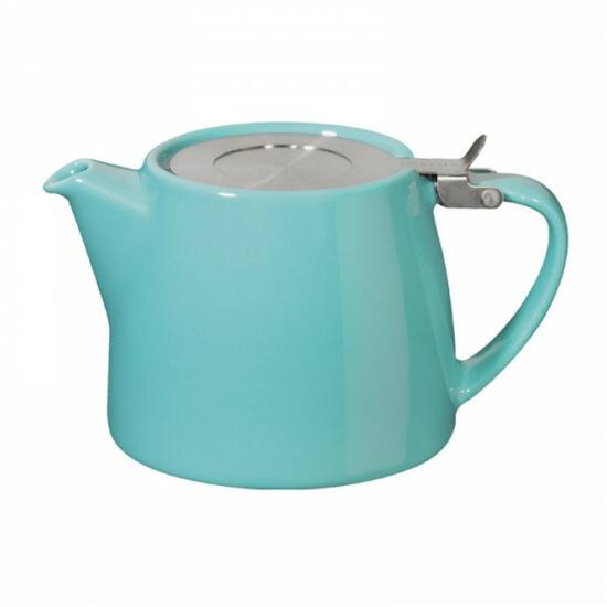 Stump teapot 50cl, turquoise blue
