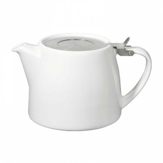 Stump Teapot 50cl, white