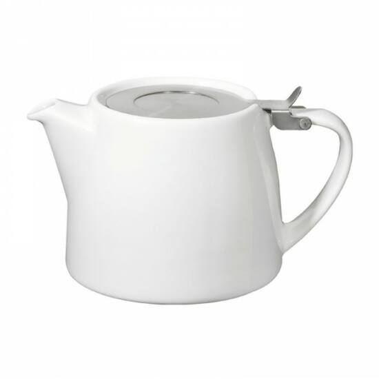 Stump Teapot 50cl, white