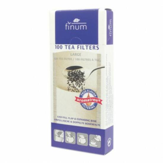Box of 100 large tea filters