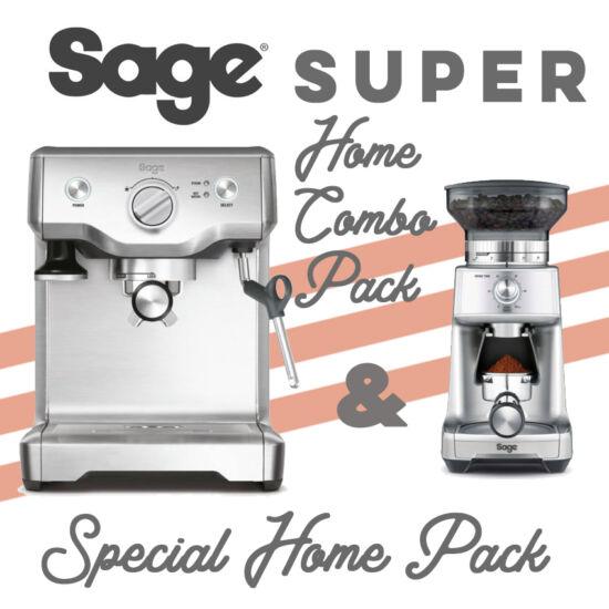 Sage AKCIÓ Kávégép és Kávéörlő Csomag