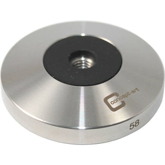 Tamper (tömörítő) talp 58mm, lapos