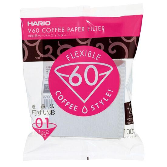 HARIO V60 01 papírfilter  (100 db/csomag)