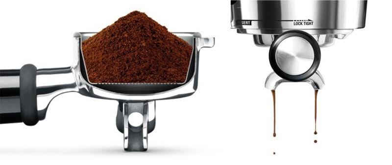 sage kávéfőző portafilter